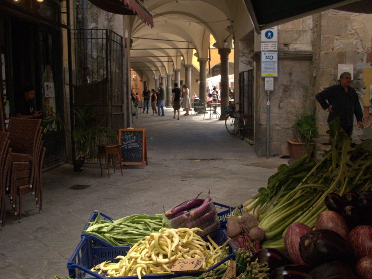 pisa tour enogastronomico- mercato di piazza delle vettovaglie