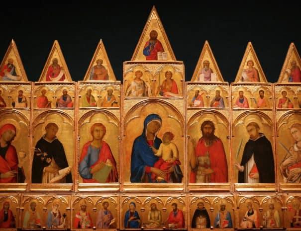 Museo Nazionae di San Matteo - Polittico di Simone Martini