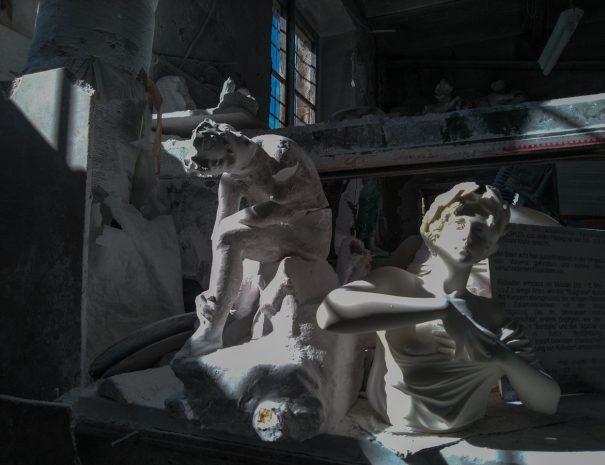 Volterra etrusca - laboratorio di alabastro