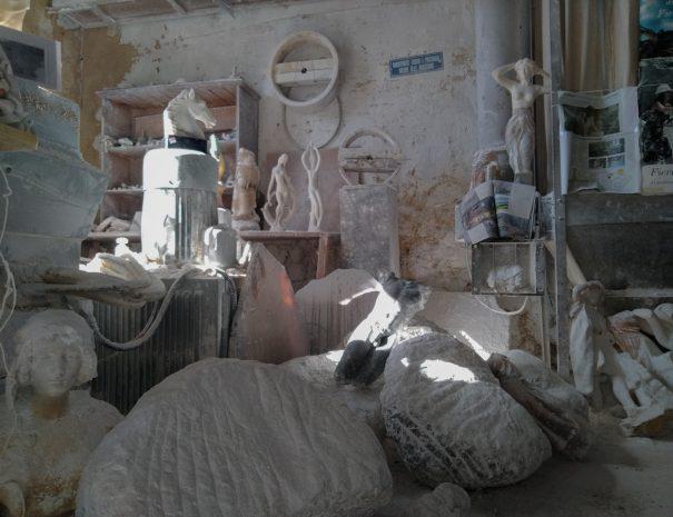 Volterra etrusca - bottega di alabastro