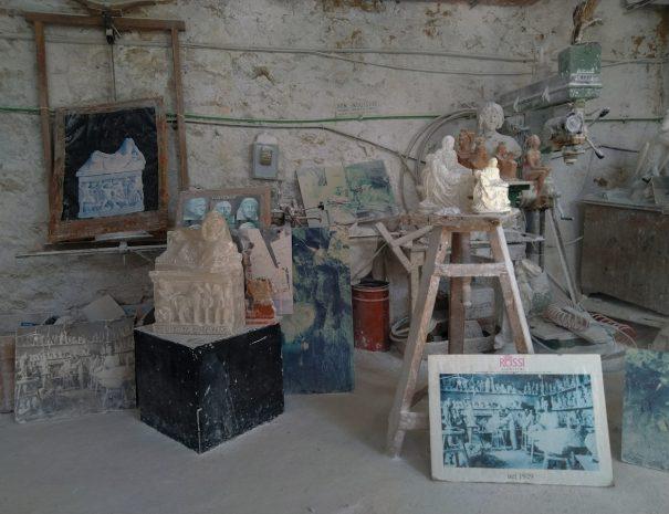 Volterra - laboratorio del Rossi Alabastri