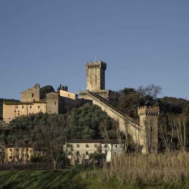 Vicopisano - cosa vedere - Rocca di Brunelleschi