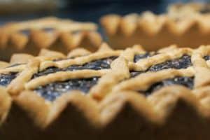 torta co bischeri - dolce tipico del pisano