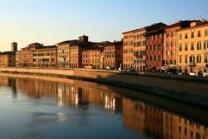 Toscana tour - Pisa - Lungarno Galileo