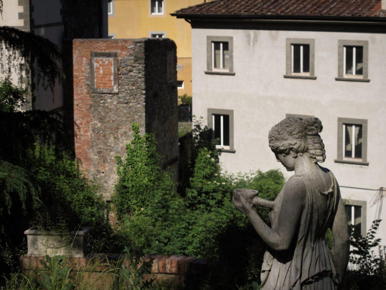 Terme di Bagni di Lucca - Giardino di una villa ai Bagni Caldi