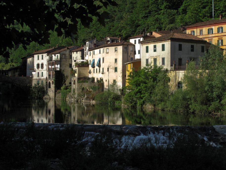Bagni di Lucca - Ponte a Serraglio e Torrente Lima