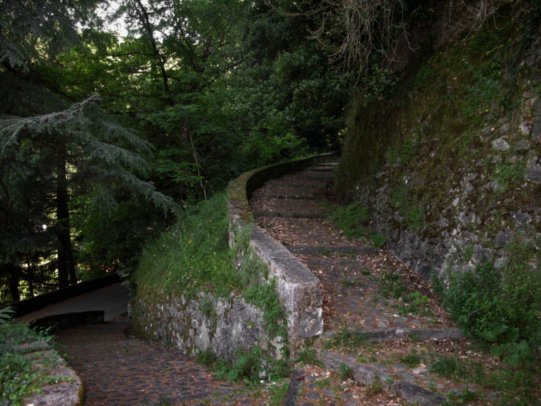 Terme di Bagni di Lucca - Sentiero ai Bagni Caldi
