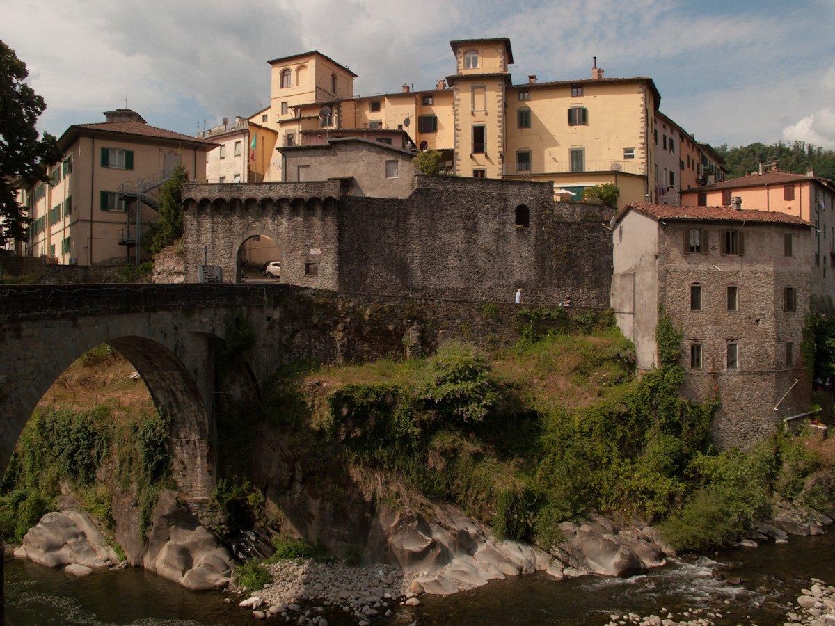 Castelnuovo Garfagnana - vista sul borgo