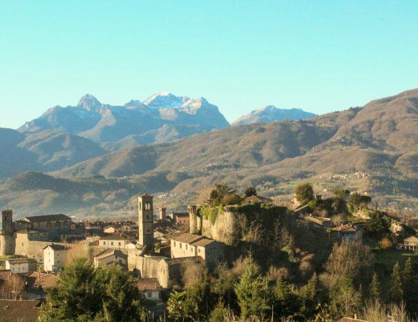 Castiglione - vista sul borgo
