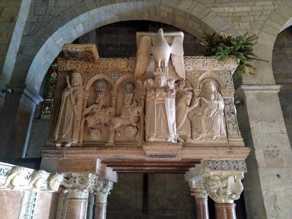 Duomo di barga - pulpito di guido bigarelli da como
